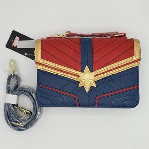 Loungefly x Captain Marvel Cosplay Crossbody Bag